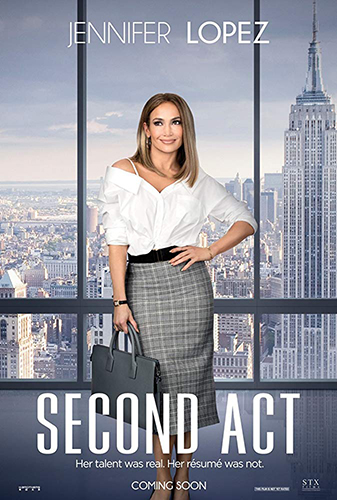 Second Act cover - Credit IMDB