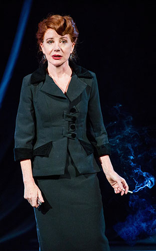 Bernadette Robinson in Songs for Nobodies - Credit Nick Brittain