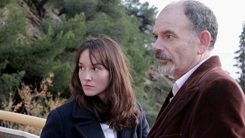 Jean-Pierre Darroussin and Anaïs Demoustier in The House by the Sea - Credit IMDB