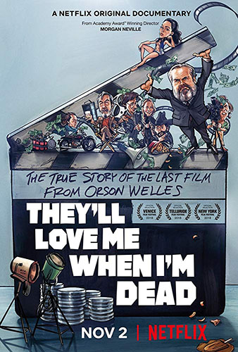 They'll Love Me When I'm Dead cover - Credit IMDB