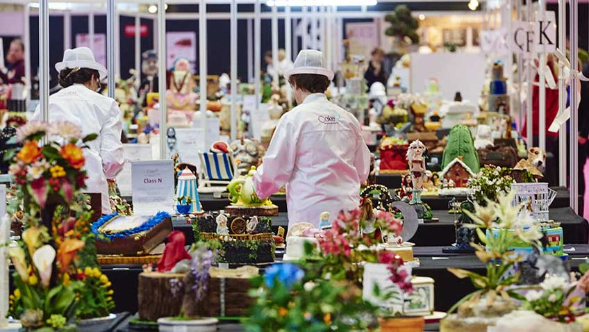 Win a pair of tickets to Cake International