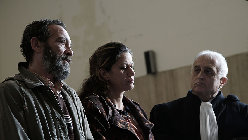 Kawsar Al Haddad and Fadi Yousef in Capernaum - Credit IMDB