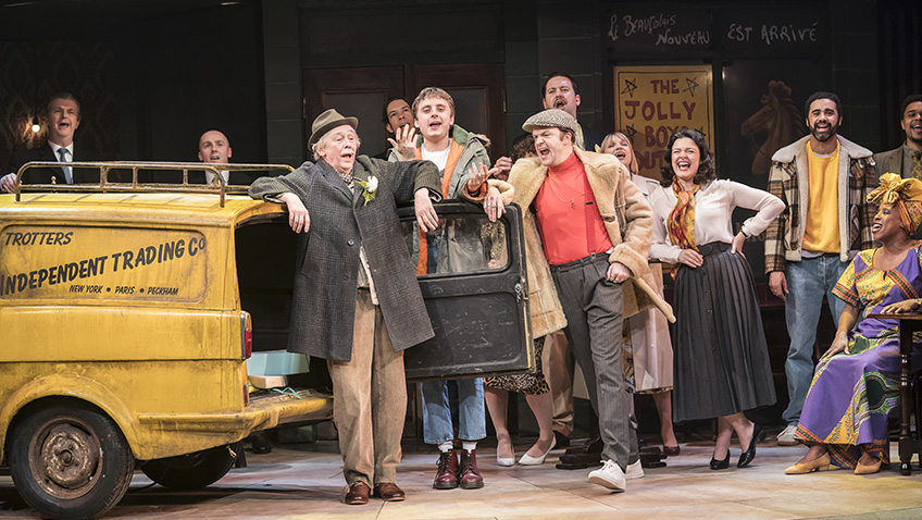 Cast of Only Fools and Horses The Musical - Credit Johan Persson