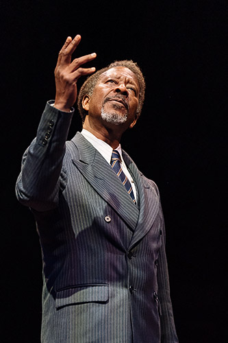 Clarke Peters in The American Clock - Credit Manuel Harlan