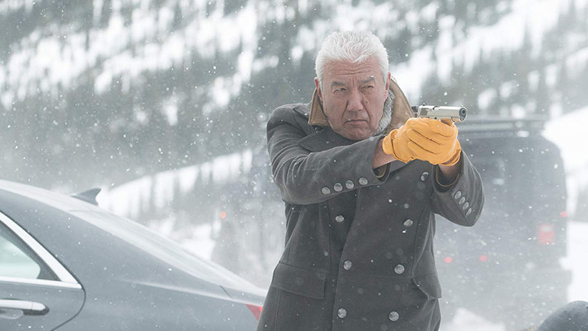 Tom Jackson in Cold Pursuit - Copyright Doane Gregory - Credit IMDB