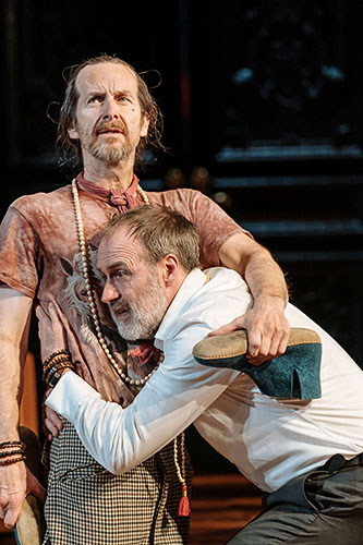 Denis O'Hare and Kevin Doyle in Tartuffe - Credit Manuel Harlan