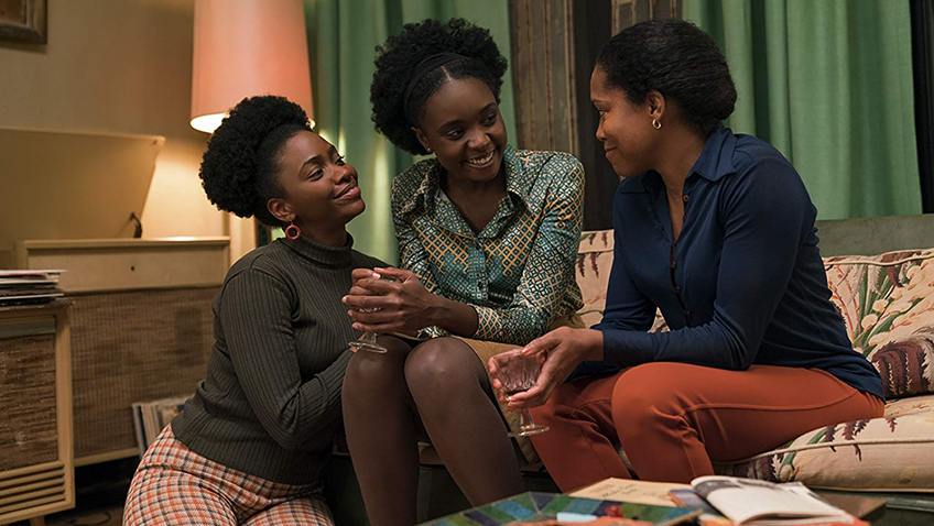 Regina King, Teyonah Parris and KiKi Layne in If Beale Street Could Talk - Copyright 2018 Annapurna Releasing, LLC. All Rights Reserved. - Credit IMDB