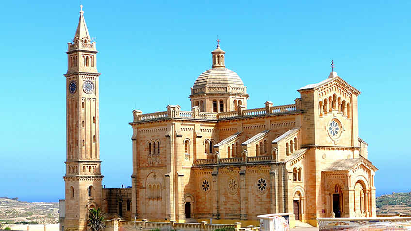 Ta'Pinu church - Gozo - Malta - Free for commercial use No attribution required - Credit Pixabay