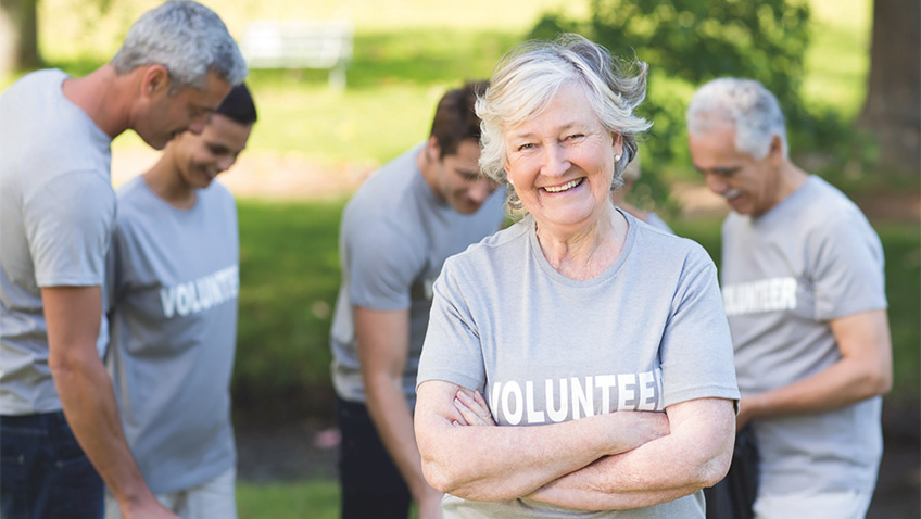 The value of older volunteers