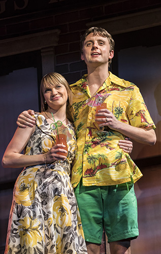 Pippa Duffy and Ryan Hutton in Only Fools and Horses The Musical - Credit Johan Persson