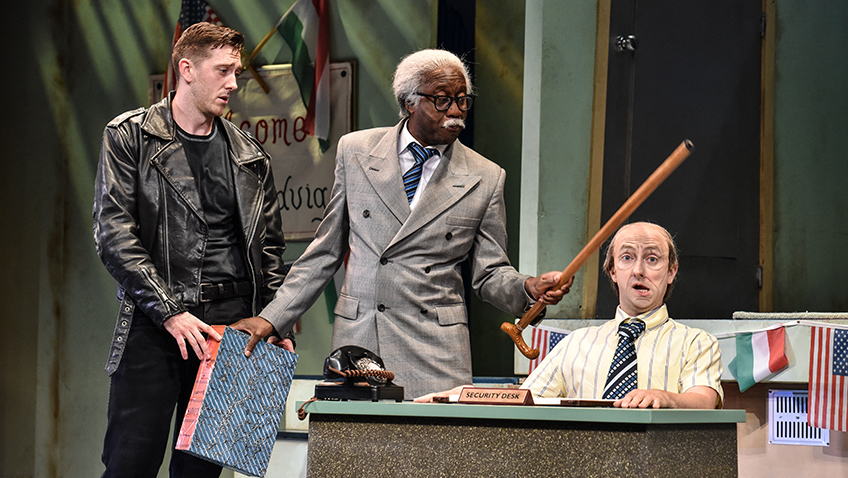 The Comedy About A Bank Robbery - Credit Robert Day