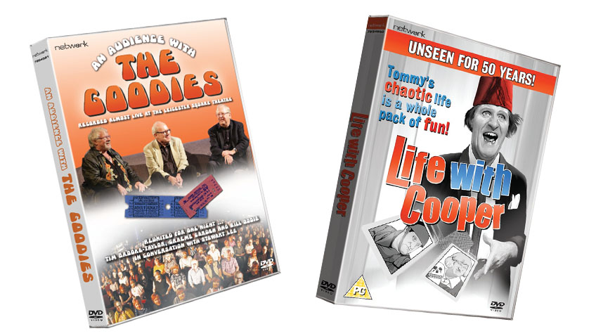 Win a Life with Cooper and An Audience with The Goodies on DVD