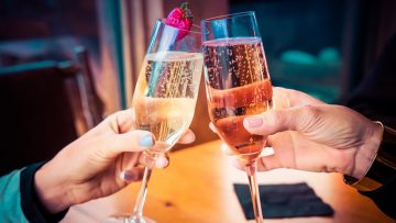 Sparkling wines for Valentine's Day