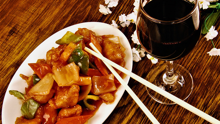What wines work best with Chinese food