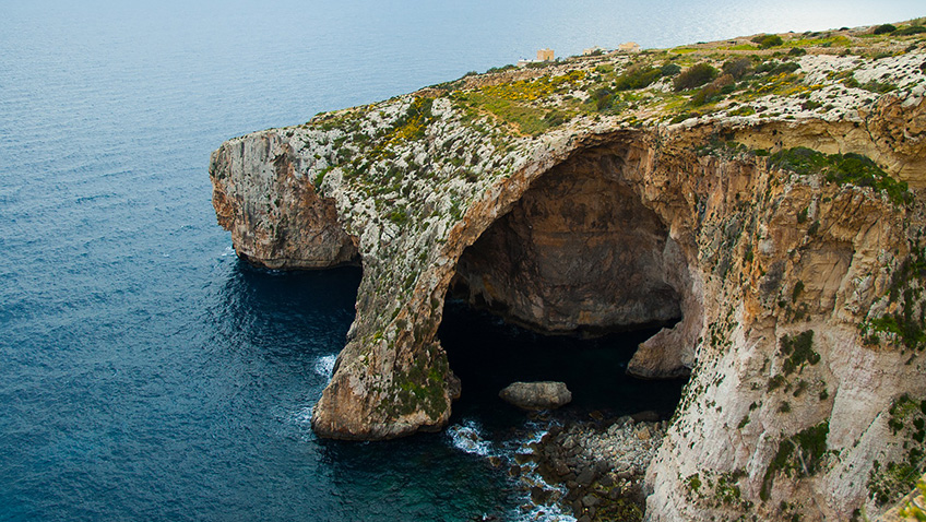 Blue Grotto - Malta - Free for commercial use No attribution required - Credit Pixabay