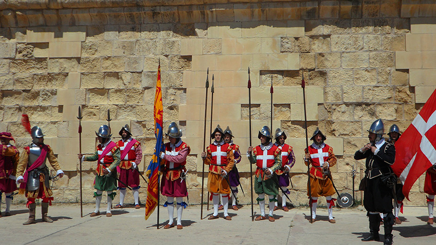 Historical reenactment - Maltese knights - Malta - Free for commercial use No attribution required - Credit Pixabay