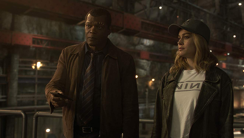 Samuel L. Jackson and his cat steal the show in this functional female-led superhero movie