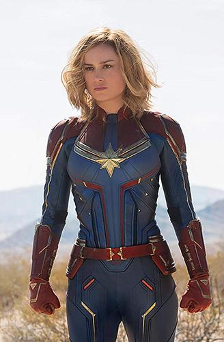 Brie Larson in Captain Marvel - Credit IMDB