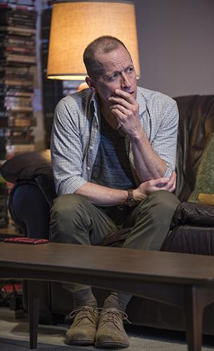 Tim Hopper in Downstate - Credit Michael Brosilow