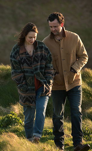 Tuppence Middleton and Daniel Mays in Fisherman's Friends
