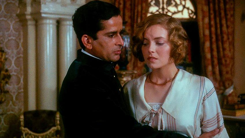 Greta Scacchi and Shashi Kapoor in Heat and Dust - Credit IMDB