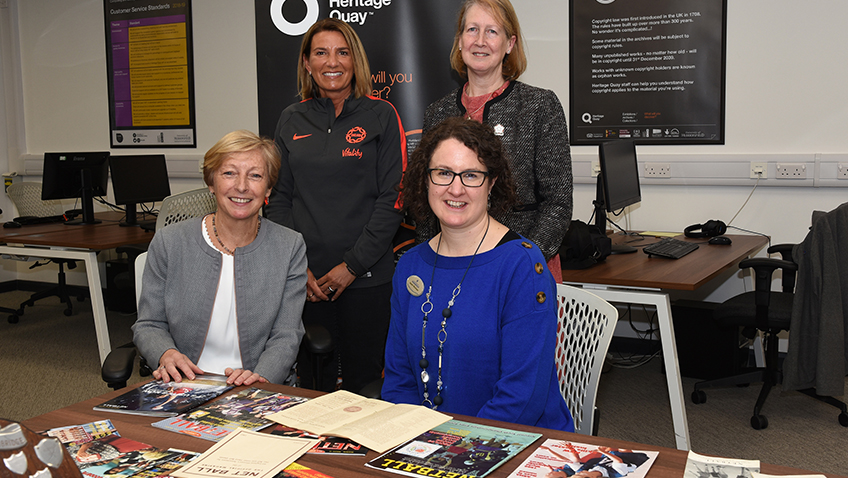 England Netball Heritage Archive opens to the public