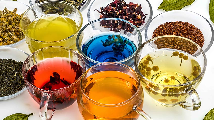 A selection of teas - National Tea Day