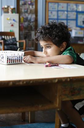 Parker Sevak in The Kindergarten Teacher - Credit IMDB