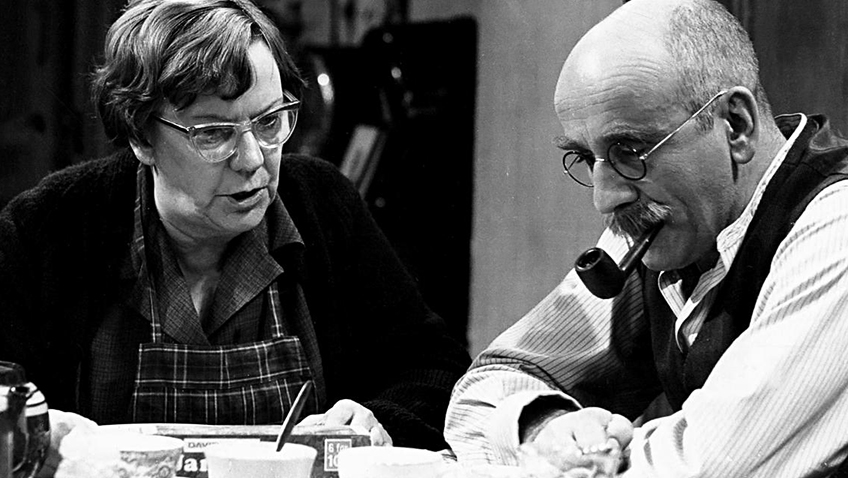 Warren Mitchell's memorable performance as Alf Garnett