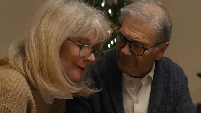 Robert Forster and Blythe Danner in What They Had