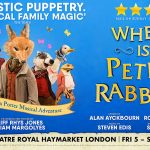 Win a family ticket for four people to see Where is Peter Rabbit?