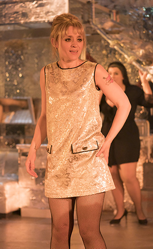 Anne-Marie Duff in Sweet Charity - Credit Johan Persson
