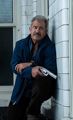 Mel Gibson in Dragged Across Concrete - Credit IMDB