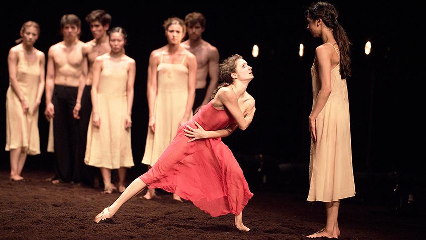 Francesca Velicu in The Rite of Spring - Credit Laurent Liotardo