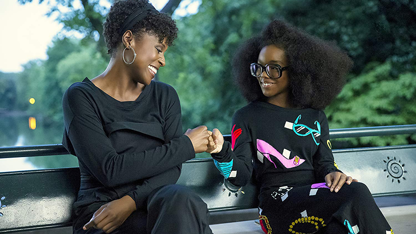Issa Rae and Marsai Martin in Little - Photo by Eli Joshua Ade - Copyright Universal Pictures - Credit IMDB