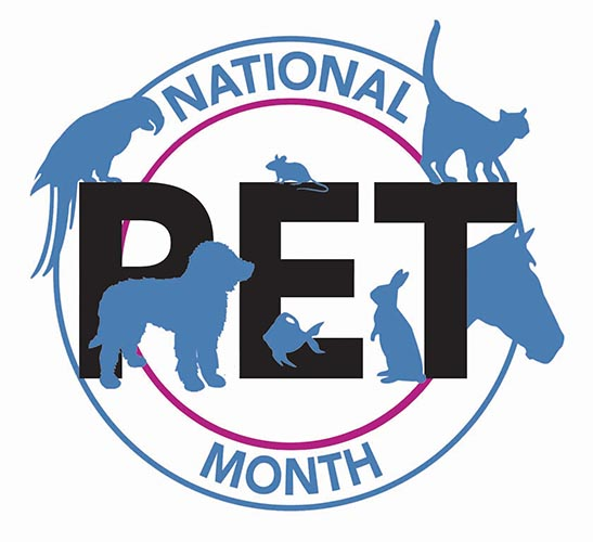 National Pet Month Logo
