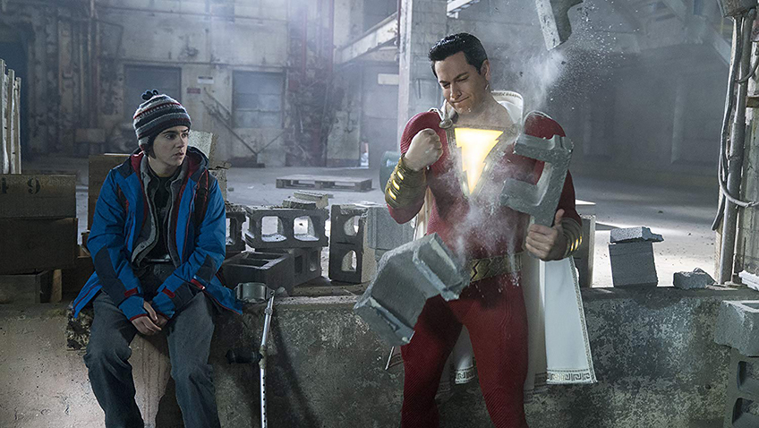 Zachary Levi and Jack Dylan Grazer in Shazam! - Credit IMDB