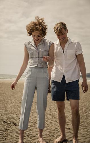 David Kross and Freya Mavor in The Keeper - Credit IMDB