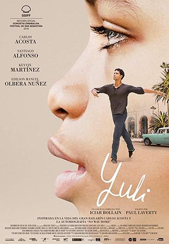 Yuli -The Carlos Acosta Story cover - Credit IMDB