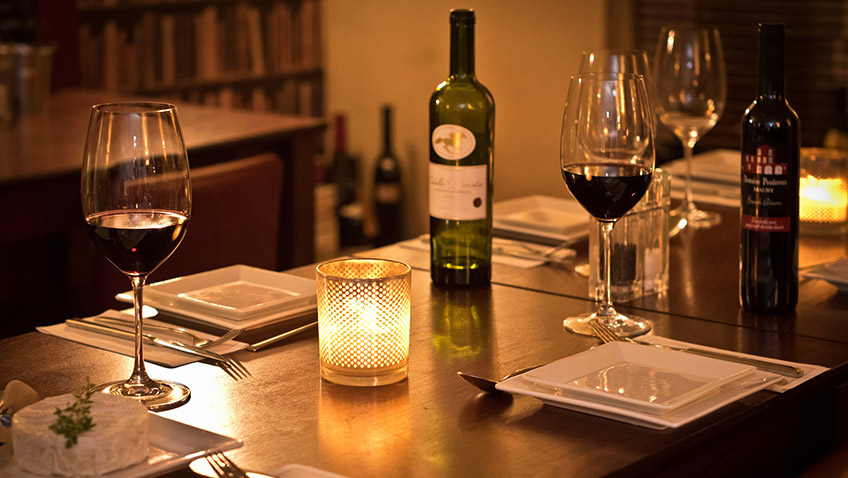 A competent wine list is just as important as the menu