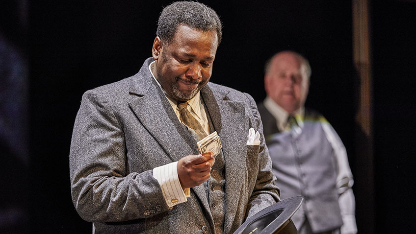 American actor Wendell Pierce makes his UK debut in Arthur Miller classic