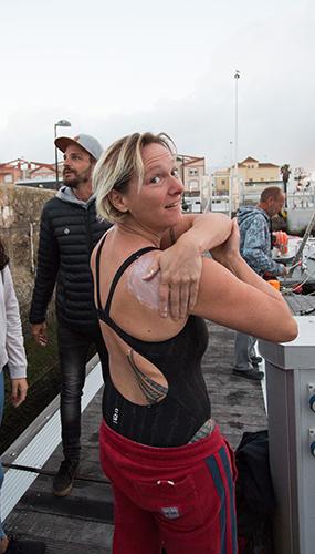 Beth French in Against the Tides - Credit Mark Beltram
