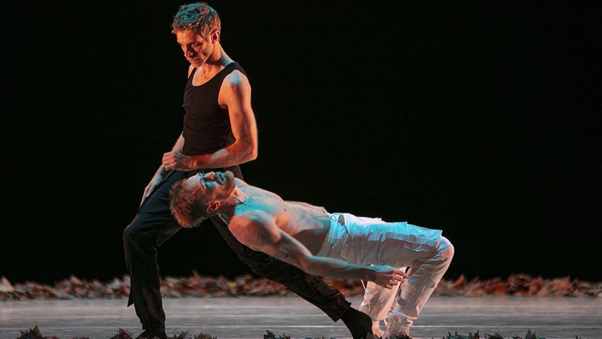 Alexey Lyubimov and Dejan Kolarov in Paradox - Credit Alexey-Kerkis