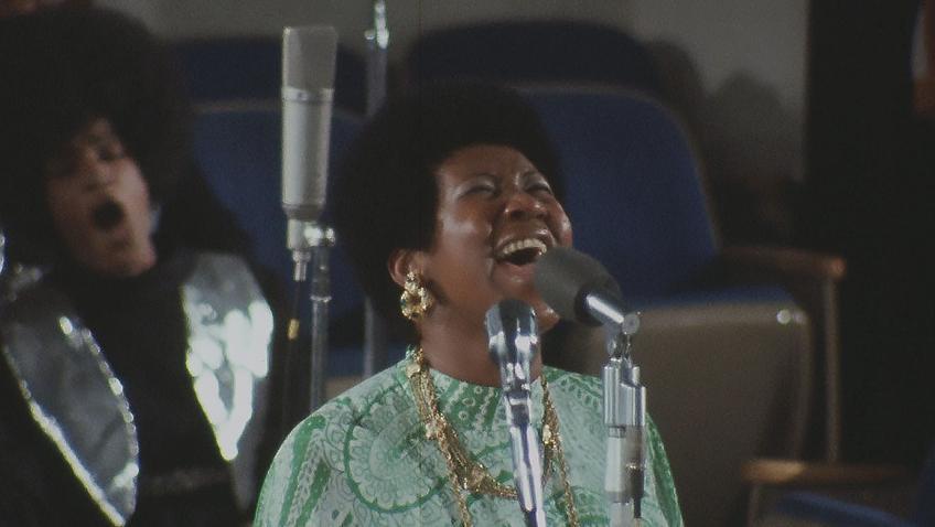 Aretha Franklin in Amazing Grace - Credit IMDB