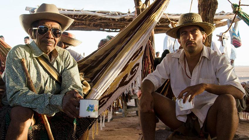 José Acosta and José Vicente in Birds of Passage - Credit IMDB