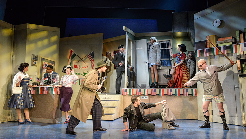 Win tickets to see five-star show The Comedy About A Bank Robbery!
