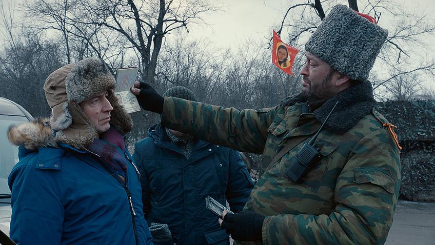 Thorsten Merten in Donbass - Credit IMDB