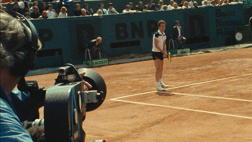 A fascinating and unusual look at the dynamic tennis pro