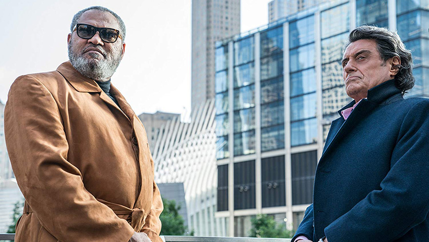 Laurence Fishburne and Ian McShane in John Wick: Chapter 3 - Parabellum - Credit IMDB
