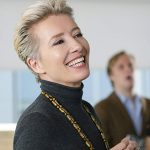 Offstage, host Emma Thompson is more hilarious than her Late Night show, but the film has other problems